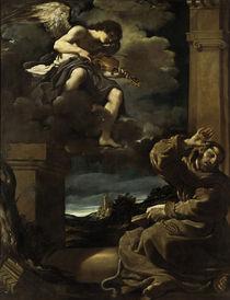 Guercino, Ekstase des Hl.Franziskus von AKG  Images