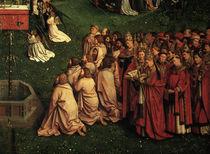 Apostel u. Kleriker/Jan v.Eyck,Genter A. by AKG  Images