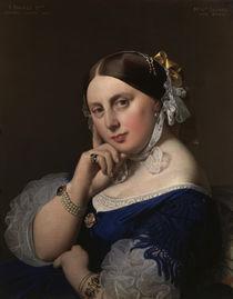 J.A.D.Ingres, Mme Ingres, geb. Ramel by AKG  Images
