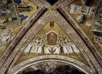 Giotto, Verherrlichung des Franziskus by AKG  Images