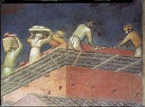 A.Lorenzetti, Buon governo, Maurer von AKG  Images