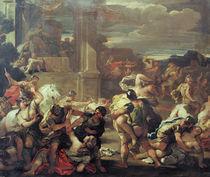 Luca Giordano, Raub der Sabinerinnen von AKG  Images
