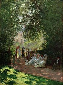 Claude Monet, Der Park Monceau by AKG  Images
