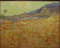V.van Gogh, Weizenfeld mit Schnitter von AKG  Images