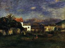 Auguste Renoir/ Vue de Cagnes/nach 1900 von AKG  Images