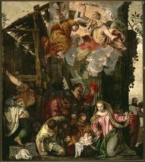 P.Veronese, Anbetung der Hirten by AKG  Images