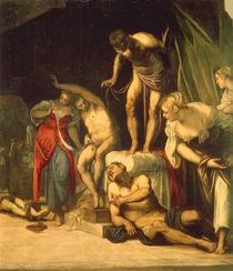 Tintoretto, Rochus heilt Pestkranke von AKG  Images