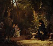 C.Spitzweg, Der Witwer/ um 1860 von AKG  Images