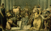 Tintoretto, Zwoelfjaehrige Jesus im Tempel by AKG  Images