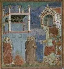 Giotto, Franziskus vor dem Sultan von AKG  Images