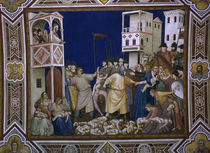 Giotto, Bethlehemit.Kindermord /Assisi by AKG  Images