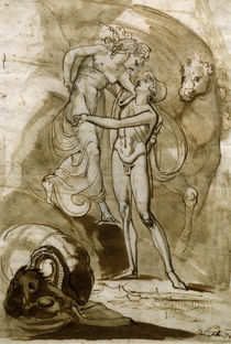 J.H.Fuessli, Perseus befreit Andromeda by AKG  Images