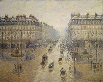 C.Pissarro, Avenue de l'Opera by AKG  Images