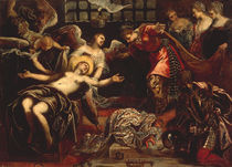 Tintoretto, Hl.Katharina im Kerker by AKG  Images