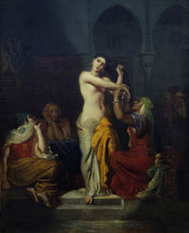 Theodore Chasseriau, Haremsszene/ 1854 by AKG  Images