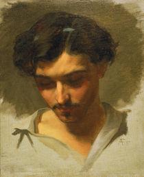 Anselm Feuerbach, Selbstbildnis 1857 von AKG  Images
