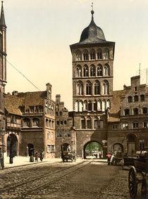 Luebeck, Burgtor / Photochrom von AKG  Images