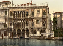 Venedig, Ca' d'Oro / Photochrom by AKG  Images