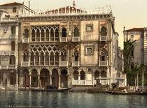 Venedig, Ca' d'Oro / Photochrom von AKG  Images