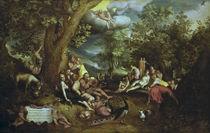 J.Brueghel d.Ae., Das Goldene Zeitalter von AKG  Images