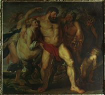 P.P.Rubens, Der trunkene Herkules by AKG  Images