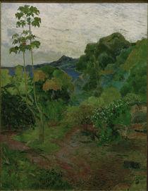 P.Gauguin, Tropische Landschaft by AKG  Images