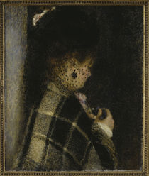 A.Renoir, Frau mit Schleier von AKG  Images