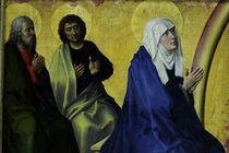 R. van der Weyden, Maria und Apostel von AKG  Images