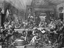 Hogarth, An Election Entertainment von AKG  Images