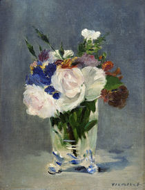 E.Manet, Blumen in einer Kristallvase by AKG  Images