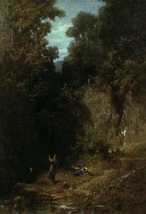 C.Spitzweg, Der Angler/ um 1875 by AKG  Images