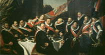 Frans Hals/ Festmahl der Offiziere/ 1616 by AKG  Images