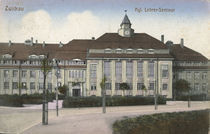 Zwickau, Lehrerseminar / Postkarte von AKG  Images