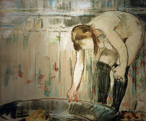 Manet, Die Frau mit der Wanne von AKG  Images