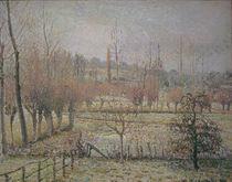 C.Pissarro, Rauhreif, Morgen...Eragny by AKG  Images