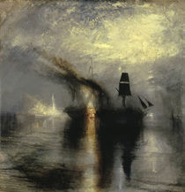 W. Turner, Beisetzung auf See von AKG  Images
