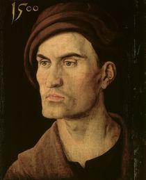 A.Duerer, Bildnis eines jungen Mannes1500 by AKG  Images