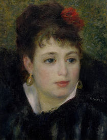 A.Renoir, Frau mit Rose by AKG  Images