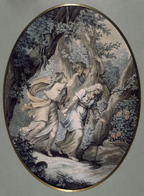 J.H.Fragonard, Paul et Virginie/ 1788 von AKG  Images