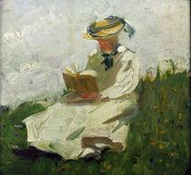 F.Marc, Lesende Frau im Gruenen von AKG  Images