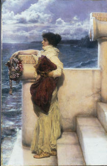 L.Alma Tadema, Hero by AKG  Images