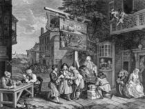 Hogarth, Canvassing for Votes von AKG  Images