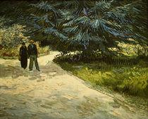V.van Gogh, Paar im Park von Arles by AKG  Images