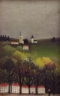 H.Rousseau, Landschaft von AKG  Images