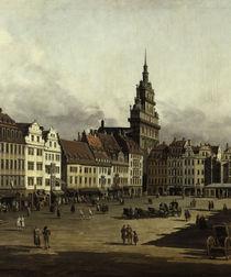 Dresden, Altmarkt / Bellotto von AKG  Images