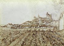 V.van Gogh, Blick auf Saintes Maries von AKG  Images
