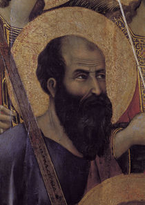 Duccio, Maesta, Apostel Paulus von AKG  Images