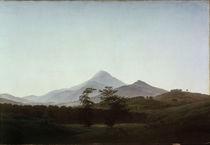 C.D.Friedrich, Boehmische Landschaft/1810 by AKG  Images