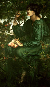 Dante G. Rossetti, The Daydream/ 1880 by AKG  Images