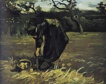 v.Gogh, Kartoffelgrabende Baeuerin by AKG  Images